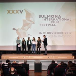 Delegazione per il Premio SIFF Studenti (© Photographia Sulmona)