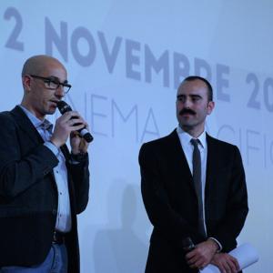 Il coordinatore Pierlorenzo Puglielli e il presidente Marco Maiorano (© Photographia Sulmona)