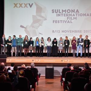 Lo Staff sul palco (© Photographia Sulmona)