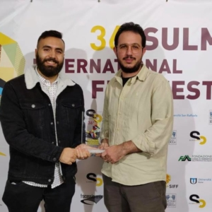 Corbellini Scarcia e Genovese Premio Best Abruzzo Short Film
